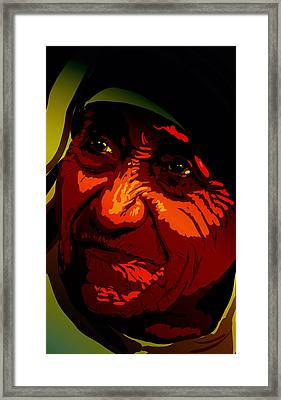 Teresa Framed Print by Matt Lindley