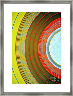 Terminal Art Framed Print by Mel Steinhauer