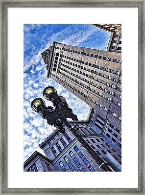 Terminal Tower - Cleveland Ohio - 1 Framed Print