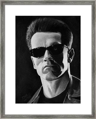 Terminator Framed Print by Vishvesh Tadsare