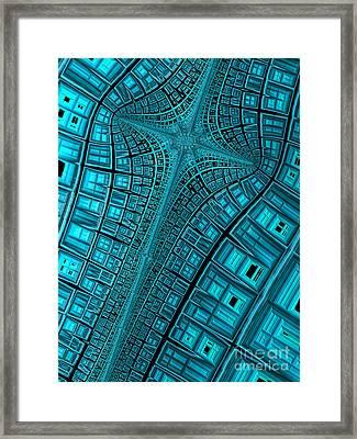 Terminus Framed Print by John Edwards