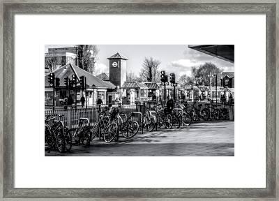 Terminus Framed Print