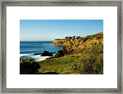 Framed Print featuring the photograph Terr Beach by Joseph Hollingsworth