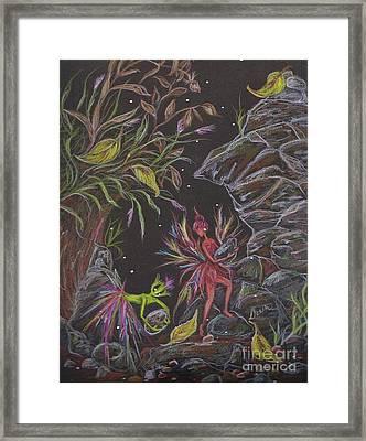 Terra Framed Print by Dawn Fairies