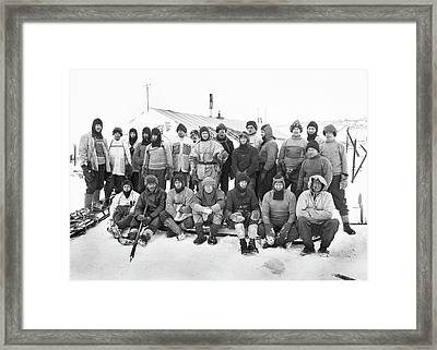 Terra Nova Antarctic Expedition Framed Print