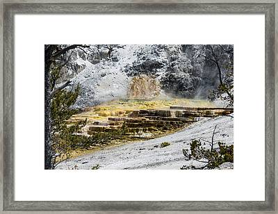 Terraces Framed Print