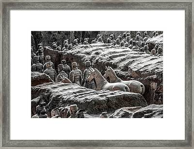 Terracotta Soldiers 1 Framed Print