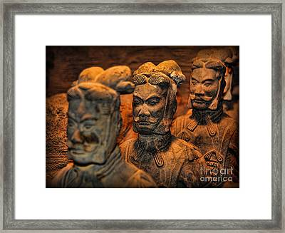 Terracotta Warriors - The Emperor's Army Framed Print