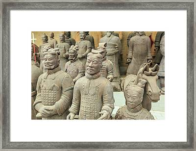 Terracotta Warrior's Factory, Xi'an Framed Print by Stuart Westmorland