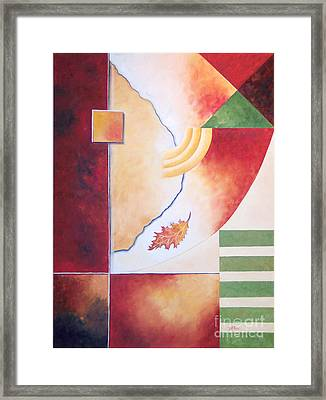 Terraform 2- Taos Series Framed Print