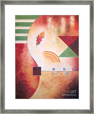 Terraform I- Taos Series Framed Print