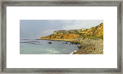 Terranea Resort Framed Print by Ron Regalado