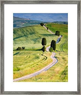 Terrapille Farm Framed Print by Michael Blanchette