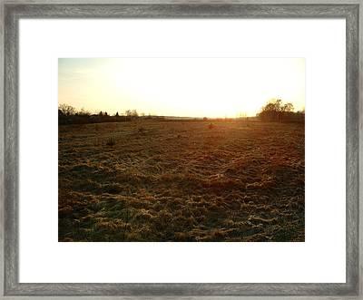 Terre Dormante Framed Print
