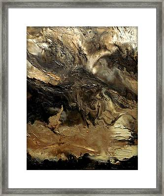 Terrene Framed Print by Holly Anderson