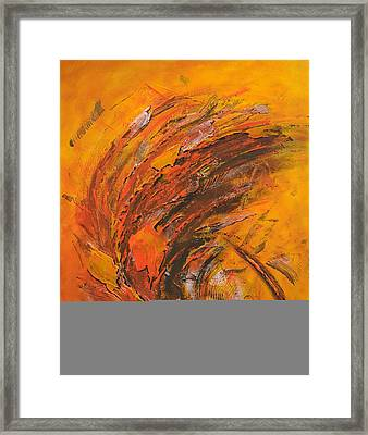 Terres Ocres Framed Print by Thierry Vobmann