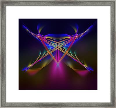 Terrestrial Butterfly Framed Print