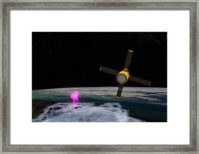 Terrestrial Gamma-ray Flash Framed Print by Nasa