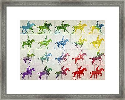 Terrestrial Locomotion Framed Print