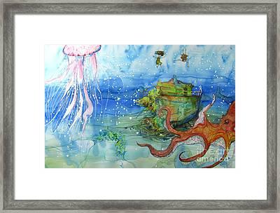 Territory Framed Print by Maya Simonson