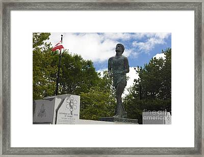 Terry Fox Monument Framed Print by Jason O Watson