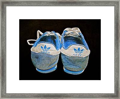 Terry Fox Was Here Framed Print