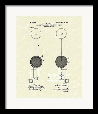Transmission Drawings Framed Prints