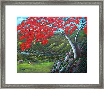 Tesoro De Mi Isla Framed Print