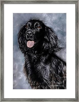 Tess Framed Print by Caroline Collinson