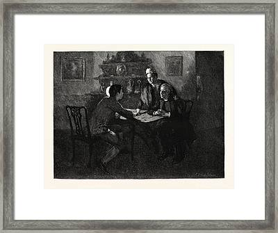 Tess Of The Durbervilles Is She Of A Family Such Framed Print