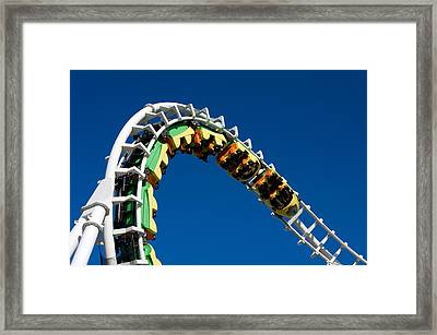 Test Drive The Sea Serpent Framed Print
