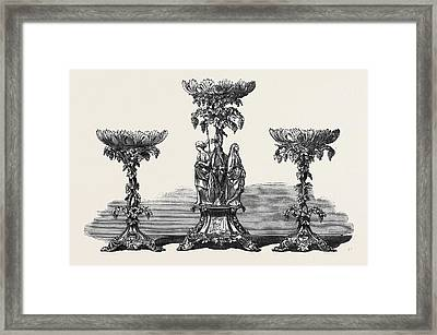 Testimonial To Mr. West Hon. Sec. To The Stationers Framed Print