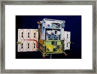Tet-1 Mini-satellite Framed Print