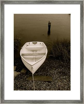Framed Print featuring the photograph Tethered by Paul Foutz