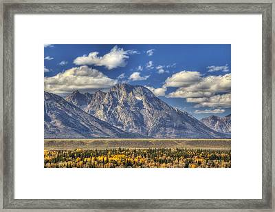Teton Glory Framed Print by Mark Kiver