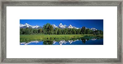 Teton Range Grand Teton National Park Framed Print