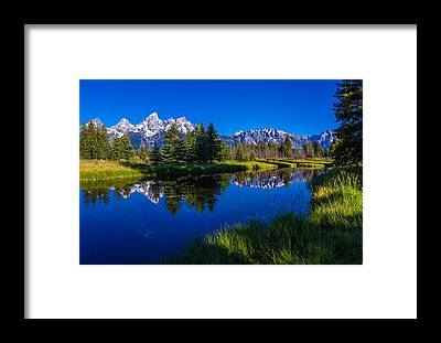 Grand Tetons Framed Prints