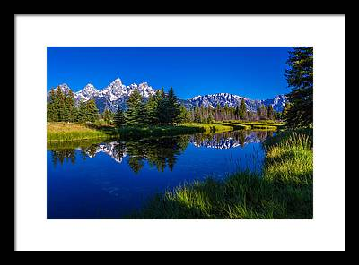 Waterscape Framed Prints