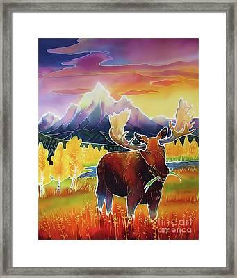 Teton Sunrise Framed Print by Harriet Peck Taylor