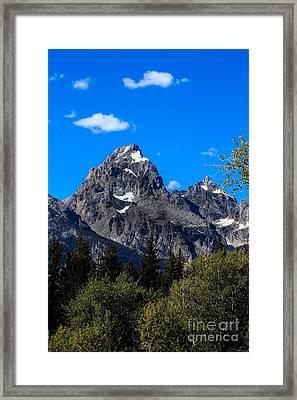 Teton View Framed Print by Robert Bales