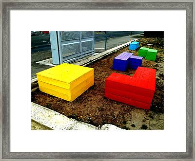 Tetris 2013 Framed Print by Steve Taylor