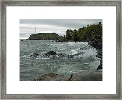 Tettegouche State Park Framed Print by James Peterson