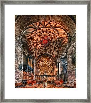 Tewkesbury Abbey IIII Framed Print
