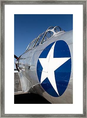 Texan Lone Star Framed Print