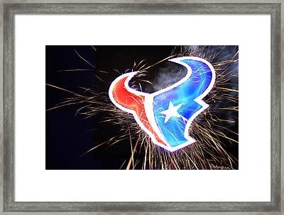 Texans Framed Print