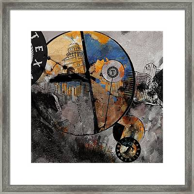 Texas - B Framed Print by Corporate Art Task Force