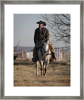 Texas 46 Framed Print