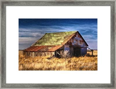 Texas Barn 1 Framed Print
