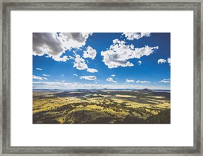 Texas Beauty Framed Print