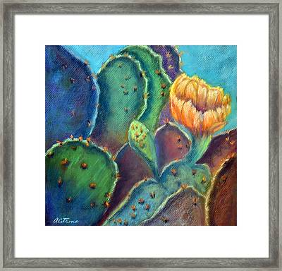 Texas Beauty  Pastel Framed Print